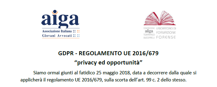 privacy ed opportunità
